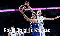 Anadolu Efes deplasmanda Kaunas takımına konuk oluyor