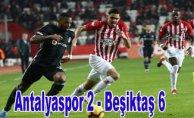 Antalya'da sağanak gol yağışı