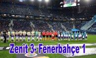 Fenerbahçe'ninAvrupa Ligi'ne de veda etti