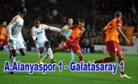 Galatasaray 1 puanı zor kurtardı