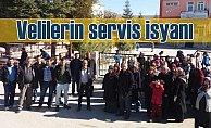 Ortakarören#039;de servis krizi büyüyor:Velilerin servis isyanı