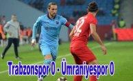 Trabzonspor kupada Ümraniye engeline takıldı