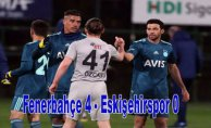 Fenerbahçe hazırlık maçında farklı kazandı