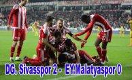 Malatyaspor'un düşüşü devam ediyor