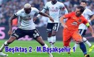 Beşiktaş liderin havasını bozdu