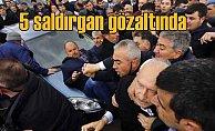 Kılıçdaroğlu'na saldırı, 5 kişi gözaltında