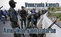 Venezuela karıştı, darbeci askerler sokakları tuttu