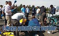 5 işçi 1 Mayıs'a giderken kazada can verdi