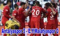 Antalyaspor, E.Y.Malatyaspor'u farklı yendi