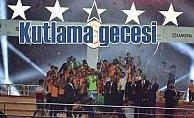 Şampiyon Galatasaray'a özel kutlama