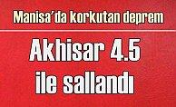 Son depremler, Manisa Kırkağaç 4,5 ile sallandı