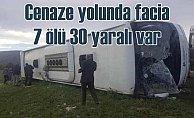 Tokat Reşadiye'de feci kaza, 7 ölü var