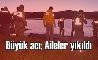 Traktörle göle giren 3 çocuk can verdi