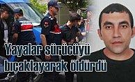 Yayalara yol vermeyen sürücü bıçaklanarak öldürüldü