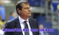 Ergin Ataman'danflaş hareket!