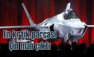 F-35'in en kritik parçası Çin'de yapılmış