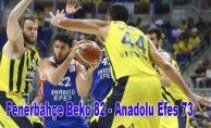 Fenerbahçe Beko seride durumu eşitledi