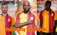 Galatasaray'da transfer şov