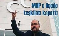 MHP, Eşme ilçe başkanlığı kapatıldı