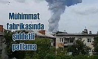 Mühimmat fabrikasında şiddetli patlama