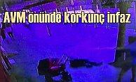 Çorlu'da AVM önünde korkunç infaz