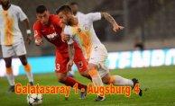 Galatasaray hazırlık maçında farklı yenildi