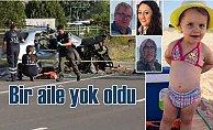 Hız faciası Uzunköprü'de bir aileyi yok etti