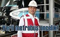 İmamoğlu'ndan yerli metrobüs çıkışı