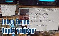 Irkçı fırına Türkiye'den tepki yağdı
