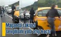 Maganda taksici, Filistinli sevgilisini yolda sürükledi