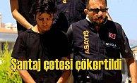 Sosyal medyada uygunsuz tuzak kuran şantaj çetesi tutuklandı