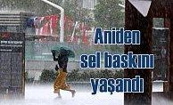 İstanbul'da yağmur   1 saatte 110 Kg yağmur