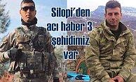 Şırnak'tan acı haber | Silopi şehitlerinin isimleri açıklandı