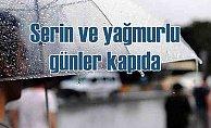 Hava durumu | Serin ve yağmurlu günler geliyor