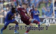 Trabzonspor deplasmanda yenildi