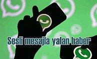 Whatsapp'ta dolaşan sesli deprem uyarısı