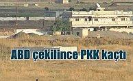 ABD askerleri çekilince PKK'lı teröristler kaçtı
