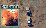 Teröristlerin mühimmat ikmalini İHA#039;lar buldu, anında vuruldu