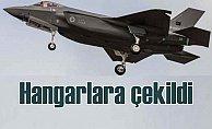 Türkiye'ye verilmeyen F-35'ler hangara çekiliyor