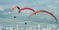 Ali Dağı Yamaç Paraşütü Kupası heyecanı başladı