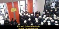 Arkadaşlarını Anmak isteyen öğrencilere polis müdehalesi