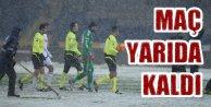 Beşiktaş Mersin Maçı; Sanki gök yarıldı, kar boşaldı