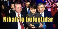 Cumhurbaşkanı Erdoğan ve 11. Cumhurbaşkanı Gül nikahta buluştu