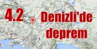 Denizli'de deprem; Honaz 4.2 sallandı
