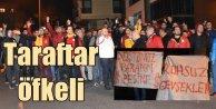 Galatasaray taraftarından Florya'da sert tepki