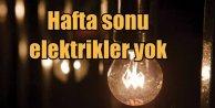 İstanbul'da pazar günü 11 ilçede elektrik yok