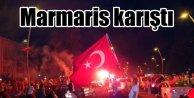Marmaris'te PKK protestosu: Olaylar çıktı 17 gözaltı var