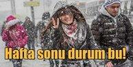 Meteoroloji uyardı; Hafta sonu kar geliyor