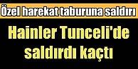 PKK, Tunceli'de Özel Harekat Taburu'na saldırdı
