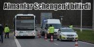 Schengen'e veda vakti yaklaşıyor: Almanya sınırda aramaya sürdürecek
